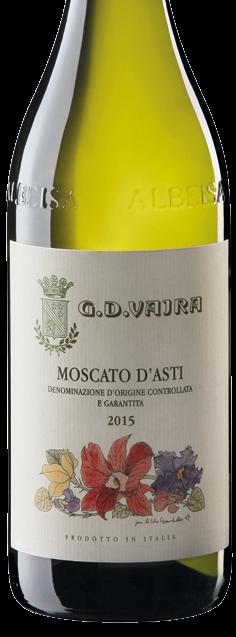 2019 Moscato d'Asti DOCG, Vajra